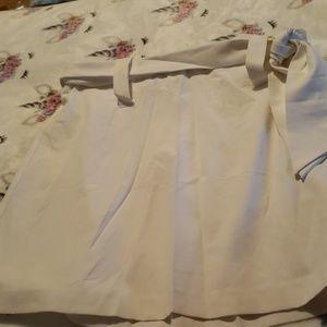 Cache white skirt.